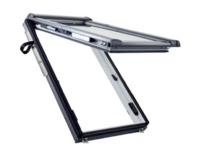 Designo RotoComfort i8 Quadro gemotoriseerd uitzet-tuimeldakvenster  in Kunststof