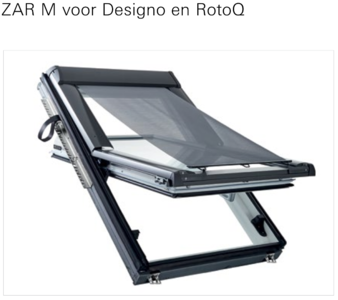 Screen voor Roto dakvensters